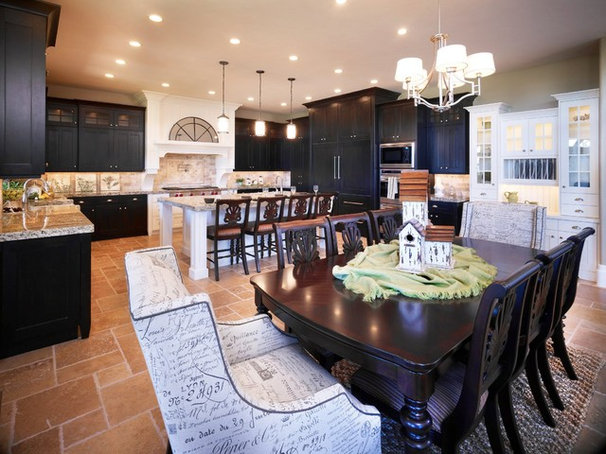 Traditional Kitchen by Joe Carrick Design - Custom Home Design