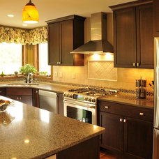 Traditional Kitchen by JG Development, Inc.