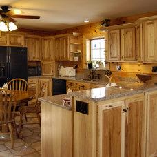 Traditional Kitchen by JG Development, Inc.