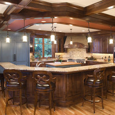 Beach Style Kitchen by John Kraemer & Sons