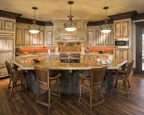 Traditional Kitchen Design Ideas Renovations Photos With Red