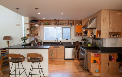 My Houzz: Added Space and Style for a 1960s Split Level