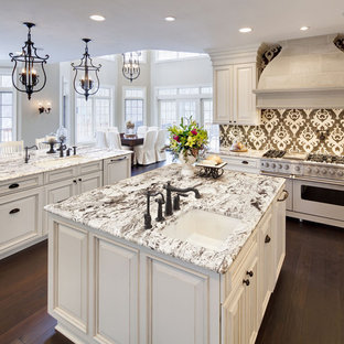 kitchens ideas with white cabinets granite traditional eatin kitchen ideas eatin traditional white cabinets venetian gold granite kitchen ideas photos houzz