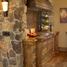 Rustic Kitchen by Karen Hodgdon, Allied ASID