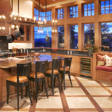 Rustic Kitchen by Karlene Hunter Baum, Allied ASID