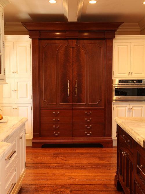 Refrigerator Armoire Houzz
