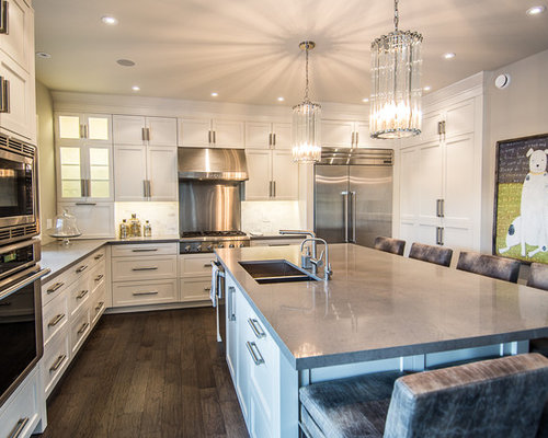 Gray Caesarstone Ideas Pictures Remodel And Decor