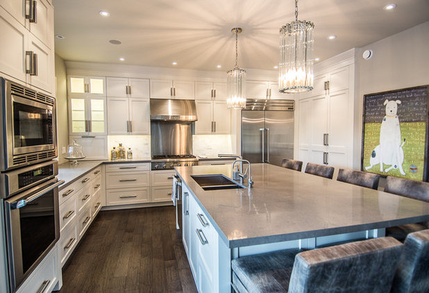 Contemporary Kitchen by Blackstone Cabinetry