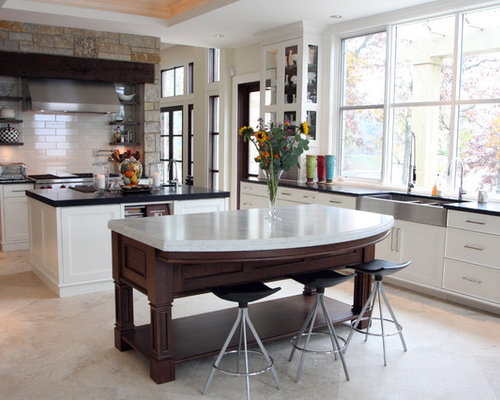 kitchen island heights counter height island houzz 13470
