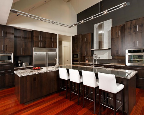 Stained Maple Cabinets Home Design Ideas Pictures
