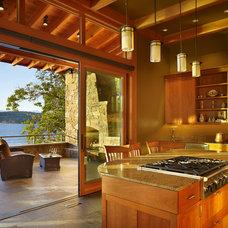Contemporary Kitchen by Krannitz Gehl Architects