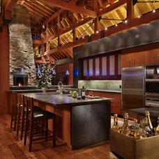 Rustic Kitchen by Krannitz Gehl Architects