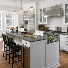 traditional kitchen by Krieger + Associates Architects Inc