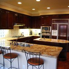 Mediterranean Kitchen by LA Design Build