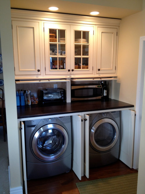 Our 25 Best Side By Side Washer Dryer Kitchen Ideas Houzz