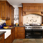 Beaded inset Cabinetry - Traditional - Kitchen - Kansas ...