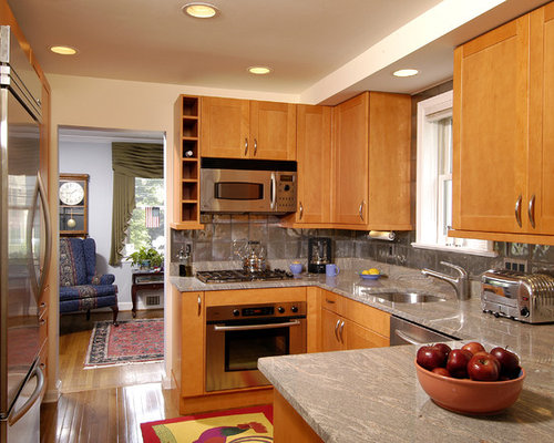 kitchen granite backsplash microwave range home design ideas pictures remodel 1774