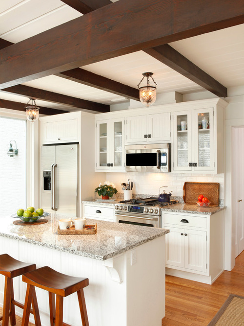 Small kitchen design ideas remodel pictures houzz for 7 ft kitchen ideas