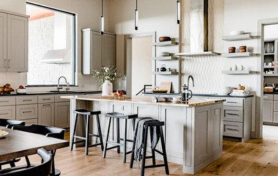 Houzz Editors Discuss 6 Stylish Kitchen Cabinet Colors