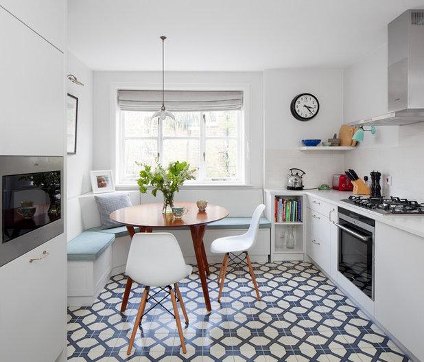 essplatz in kleiner küche? 12 platzsparende einrichtungstipps!, Wohnideen design