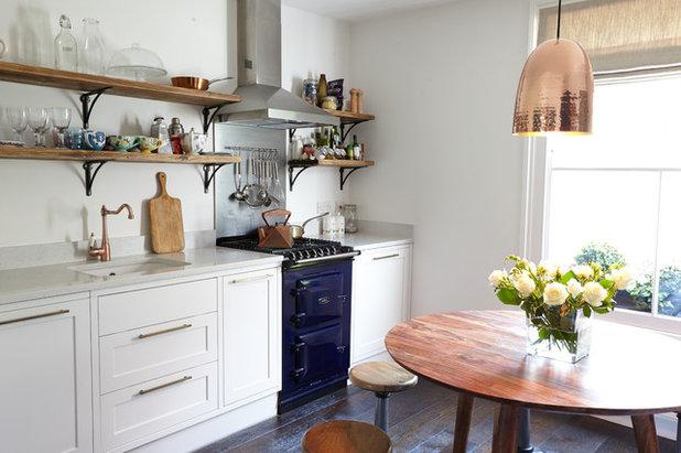Envie d 39 vasion 15 id es d co pour oser le bleu en cuisine - Deco cuisine campagne anglaise ...