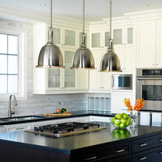 Contemporary Kitchen by Laura Stein Interiors