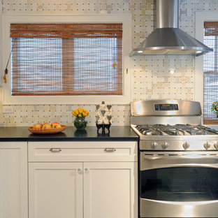 marble kitchen cabinets basket weave backsplash houzz 4008