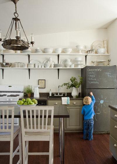 eclctico cocina by lauren liess interiors