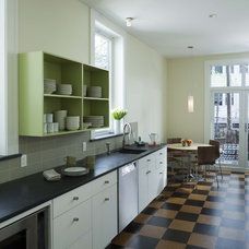 Contemporary Kitchen by Laurie Lieberman Architects