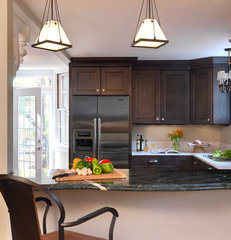 traditional kitchen by Marcia Moore Design