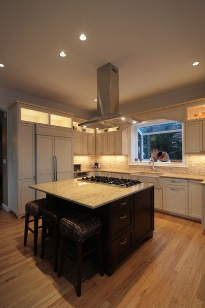 Traditional Kitchen by Leveille Home Improvement Consultants, Inc.