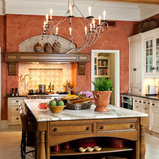 Transitional Kitchen by LGB Interiors