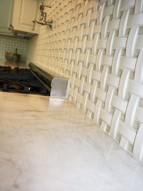 Basket Weave Backsplash | Houzz