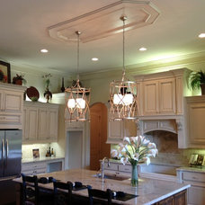 Transitional Kitchen by Lighting Etc.