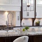 Kitchen cabinets with window - Traditional - Kitchen - San Diego - by Robeson Design