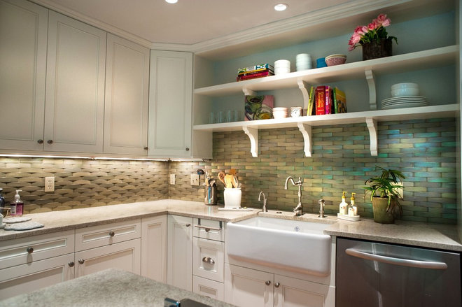 Eclectic Kitchen by Lindsey M. Roberts