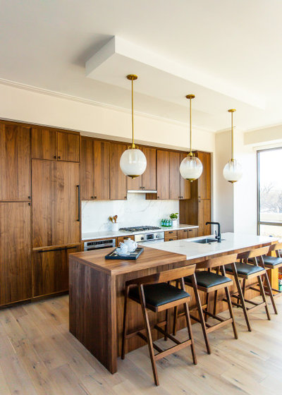 Contemporary Kitchen by Lisa & Leroy