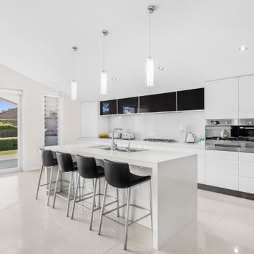 Kitchen, Living & Dining