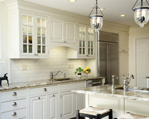 Mismatched Cabinet Knobs And Pulls | Houzz