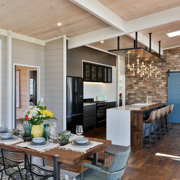 Kitchen Lockwood show home Taupo
