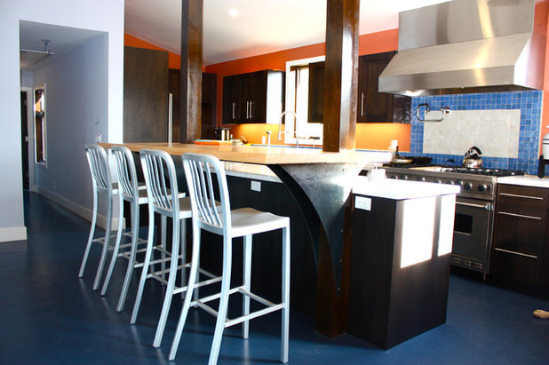 Contemporary Kitchen by Lynn Malone