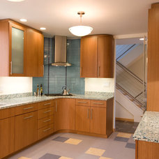 Contemporary Kitchen by Cabinets and Beyond Design Studio