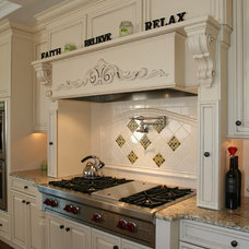 Traditional Kitchen by M C designs Inc.