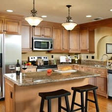 Traditional Kitchen by DreamBuilders Home Remodeling