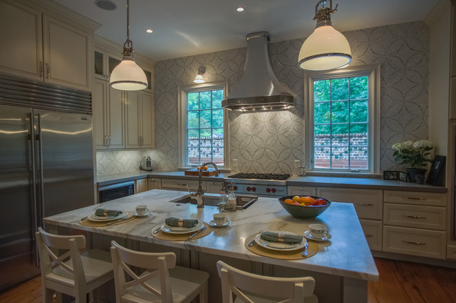 Traditional Kitchen by D John Design