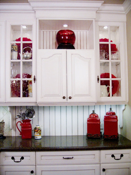 Red Kitchen Accents Home Design Ideas Pictures Remodel