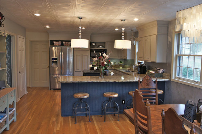 Traditional Kitchen by Bella Tucker Decorative Finishes