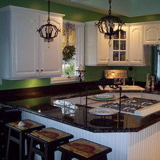 Traditional Kitchen Kitchen Makeover - Painted Formica