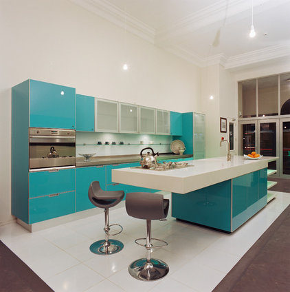 Contemporary Kitchen by Mal Corboy Design