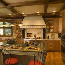 Rustic Kitchen by Marie Meko, Allied ASID